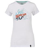La Sportiva Cubic - T-Shirt Klettern - Damen, White