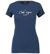 La Sportiva Cubic - T-Shirt Klettern - Damen, Blue
