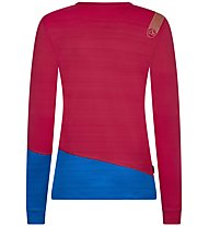 La Sportiva Dash - Langarm-Shirt - Damen, Pink/Light Blue