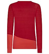 La Sportiva Dash - maglia a maniche lunghe - donna, Red/Light Red