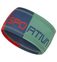 La Sportiva Diagonal - fascia paraorecchie, Green/Blue/Red