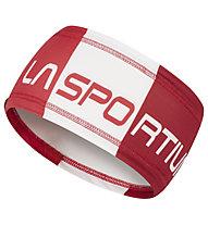 La Sportiva Diagonal - fascia paraorecchie, Red/White