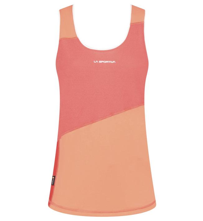La Sportiva Drift Tank - Runningtop - Damen, Red/Orange