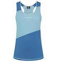 La Sportiva Drift Tank - top trail running - donna, Light Blue/Azure