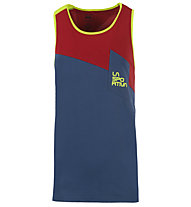 La Sportiva Dude - Trägershirt Klettern - Herren, Blue/Red