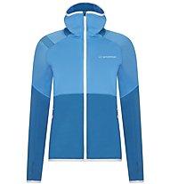 La Sportiva Eagle - giacca in pile con cappuccio - donna, Light Blue/Blue