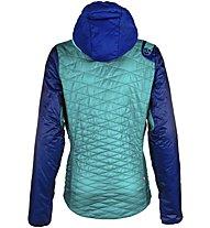 La Sportiva Elysium Primaloft - giacca con cappuccio - donna, Blue/Violet