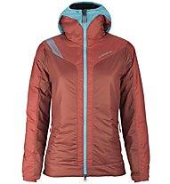 La Sportiva Estela 2.0 Primaloft - Giacca con cappuccio alpinismo - donna, Blue/Red