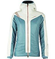 La Sportiva Estela 2.0 Primaloft - Giacca con cappuccio alpinismo - donna, Light Blue
