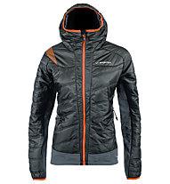 Exodar giacca con cappuccio sci alpinismo donna