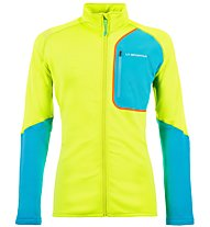 La Sportiva Falkon - Fleecejacke Skitouren - Herren, Green/Light Blue