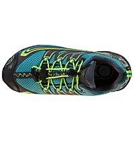 La Sportiva Falkon Low Gtx - scarpe trekking - bambino, Black/Blue/Green