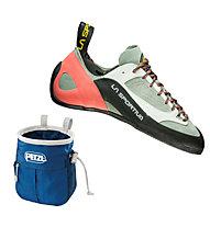La Sportiva Finale Women's - scarpa arrampicata, Grey/Coral