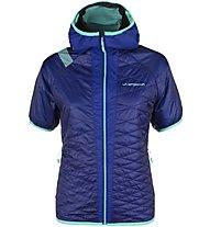 La Sportiva Firefly - Giacca con cappuccio scialpinismo - donna, Blue
