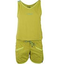 La Sportiva Flash Jumper Damen Wander- Kletterhose kurz mit Top, Yellow