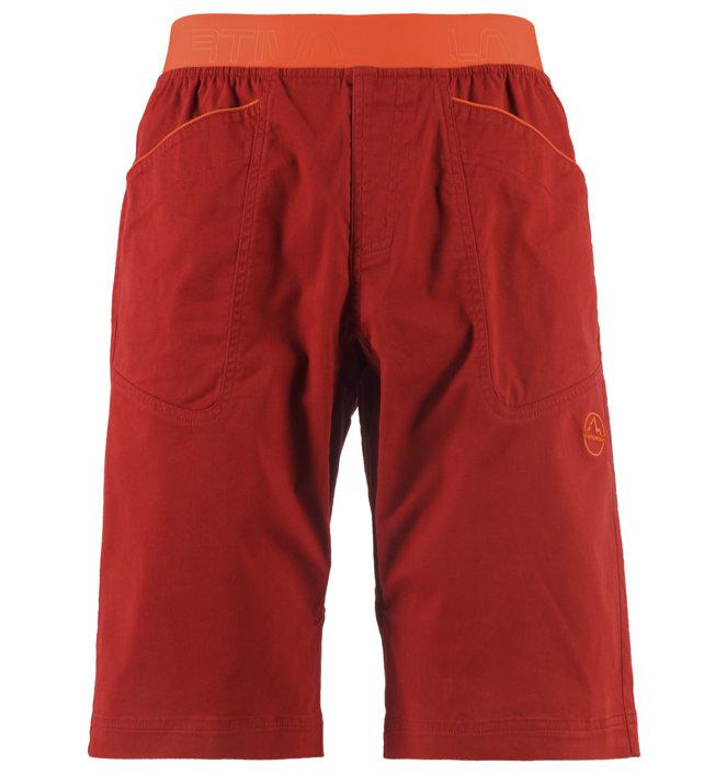 La Sportiva Flatanger - pantaloni arrampicata - uomo, Red