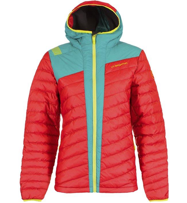 La Sportiva Frontier - Daunenjacke Skitouring - Damen, Red