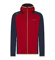 La Sportiva Gemini Hoody - giacca in pile - uomo, Red/Blue
