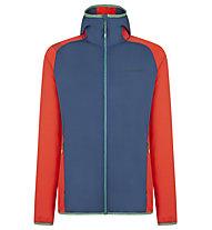 La Sportiva Gemini Hoody - giacca in pile - uomo, Blue/Red