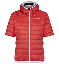 La Sportiva Glow - giacca sci alpinismo - donna, Red/White