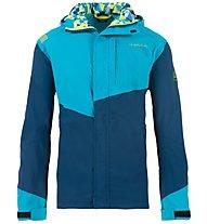 La Sportiva Grade - Kapuzenjacke Klettern - Herren, Light Blue/Blue