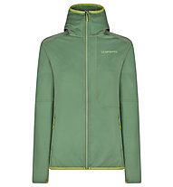 La Sportiva Granite Hoody - Fleecejacke mit Kapuze - Damen, Green