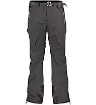 La Sportiva Halo - pantaloni lunghi softshell sci alpinismo - uomo, Black