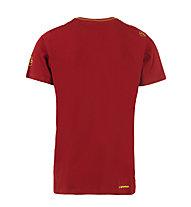 La Sportiva Helmet - T-Shirt Klettern - Herren, Red