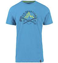 La Sportiva Hipster - T-Shirt Klettern - Herren, Light Blue