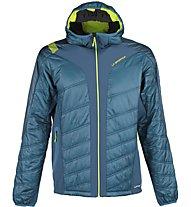 La Sportiva Hyperspace - giacca con cappuccio alpinismo - uomo, Blue/Grey