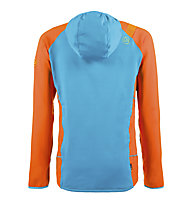 La Sportiva Iridium - giacca in pile - uomo, Blue/Orange