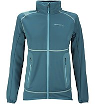 La Sportiva Iris - giacca in pile sci alpinismo - donna, Blue