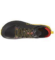 La Sportiva Kaptiva - scarpe trail running - uomo, Black/Yellow