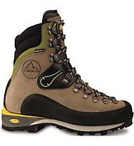 La Sportiva Karakorum HC GTX - Scarponi alta quota alpinismo - donna, Brown/Green