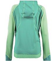 La Sportiva Kix - giacca con cappuccio - donna, Green