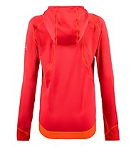 La Sportiva Kix - Fleecejacke mit Kapuze - Damen, Light Red