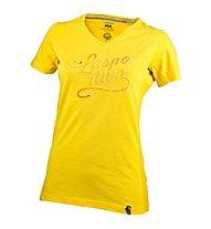 La Sportiva LaspoDiva T-shirt arrampicata donna, Yellow