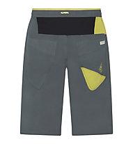 La Sportiva Leader - pantaloni corti arrampicata - uomo, Dark Grey/Green