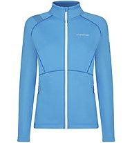 La Sportiva Luna - Fleecejacke mit Kapuze Bergsport - Damen, Light Blue