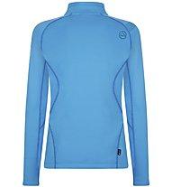 La Sportiva Luna - felpa in pile - donna, Light Blue