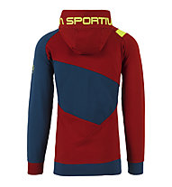 La Sportiva Magic Wood - Kapuzenpullover Klettern - Herren, Red/Blue