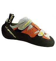 La Sportiva Mantis - scarpetta arrampicata, Orange/Grey