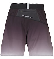 La Sportiva Medal - pantaloncini trail running - uomo, Black/Grey