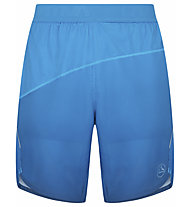 La Sportiva Medal - pantaloni corti trail running - uomo, Light Blue