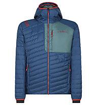 La Sportiva Meridian PrimaLoft - giacca con cappuccio - uomo, Blue/Green/Red