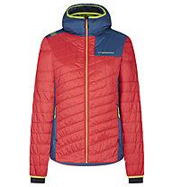 La Sportiva Misty Primaloft - Skitourenjacke mit Kapuze - Damen, Red/Blue
