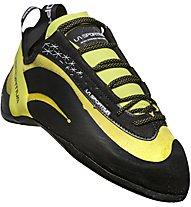 La Sportiva Miura - scarpette da arrampicata - uomo, Black/Yellow
