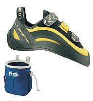 La Sportiva Miura VS - scarpette da arrampicata - uomo, Yellow/Black