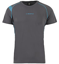 La Sportiva Motion - Trailrunning T-Shirt - Herren, Grey/Blue