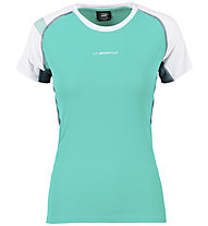 La Sportiva Move - Trailrunning T-Shirt - Damen, Light Blue/White